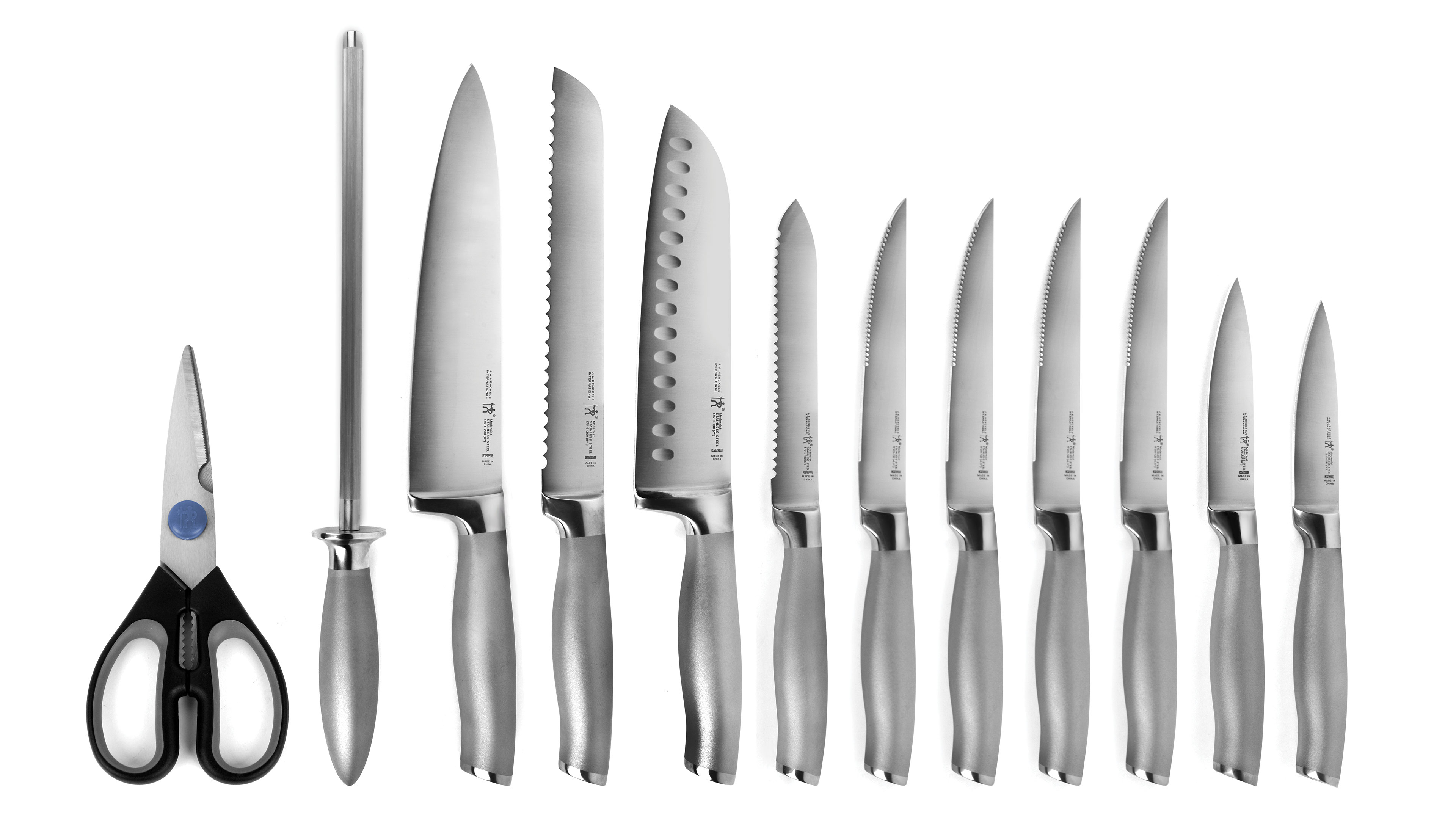 henckels international modernist knife block set 13 piece