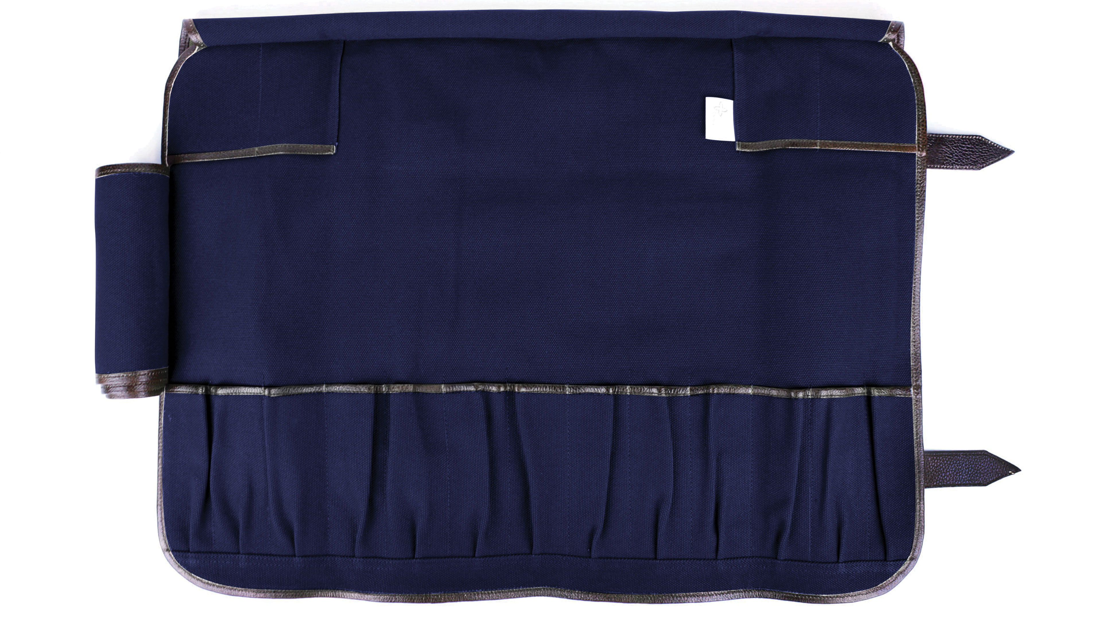 Boldric Canvas Knife Bag 17 Pocket Navy Cutlery And More