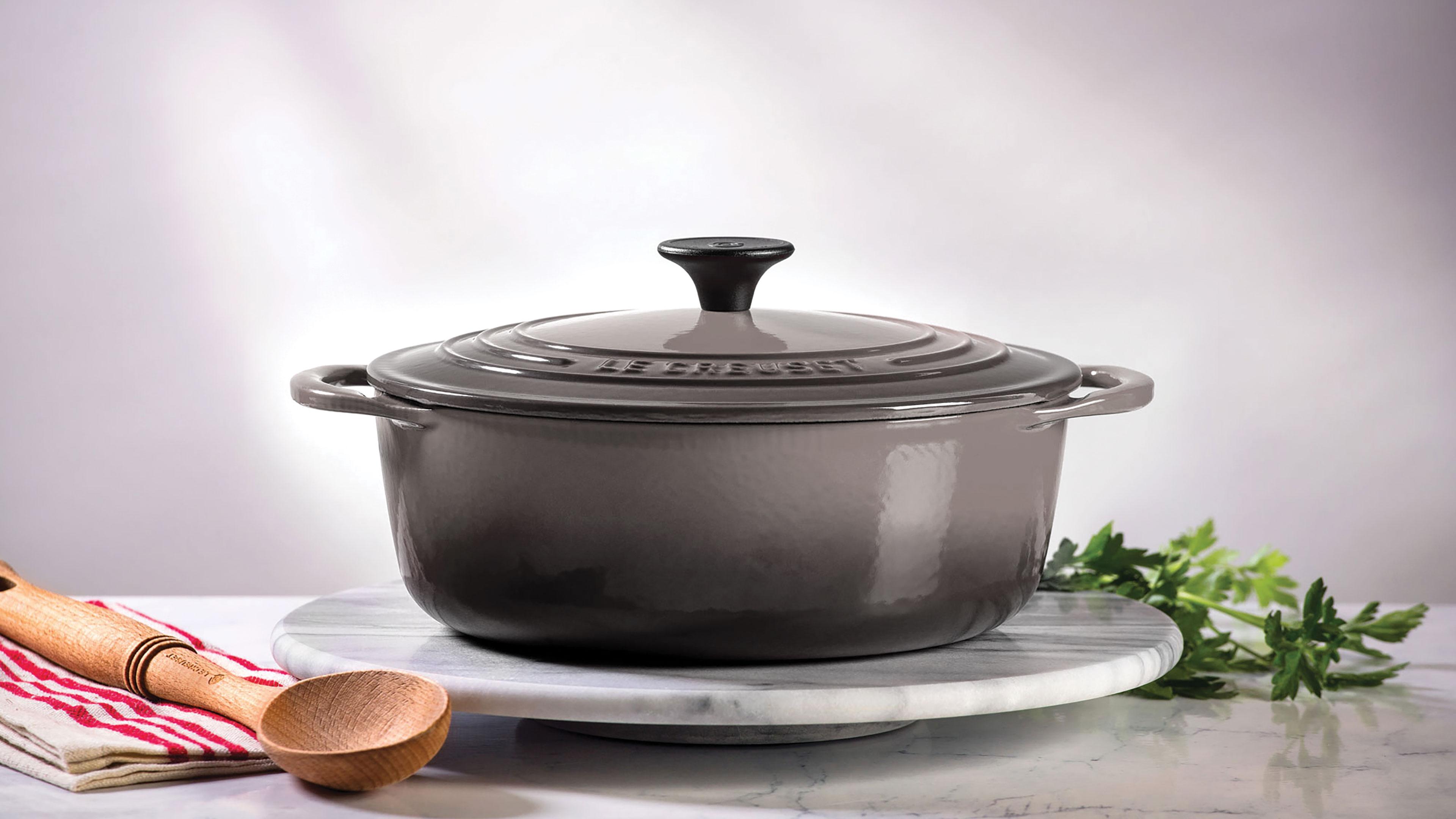 Le Creuset Cast Iron Shallow Round Dutch Oven 2 75 Quart