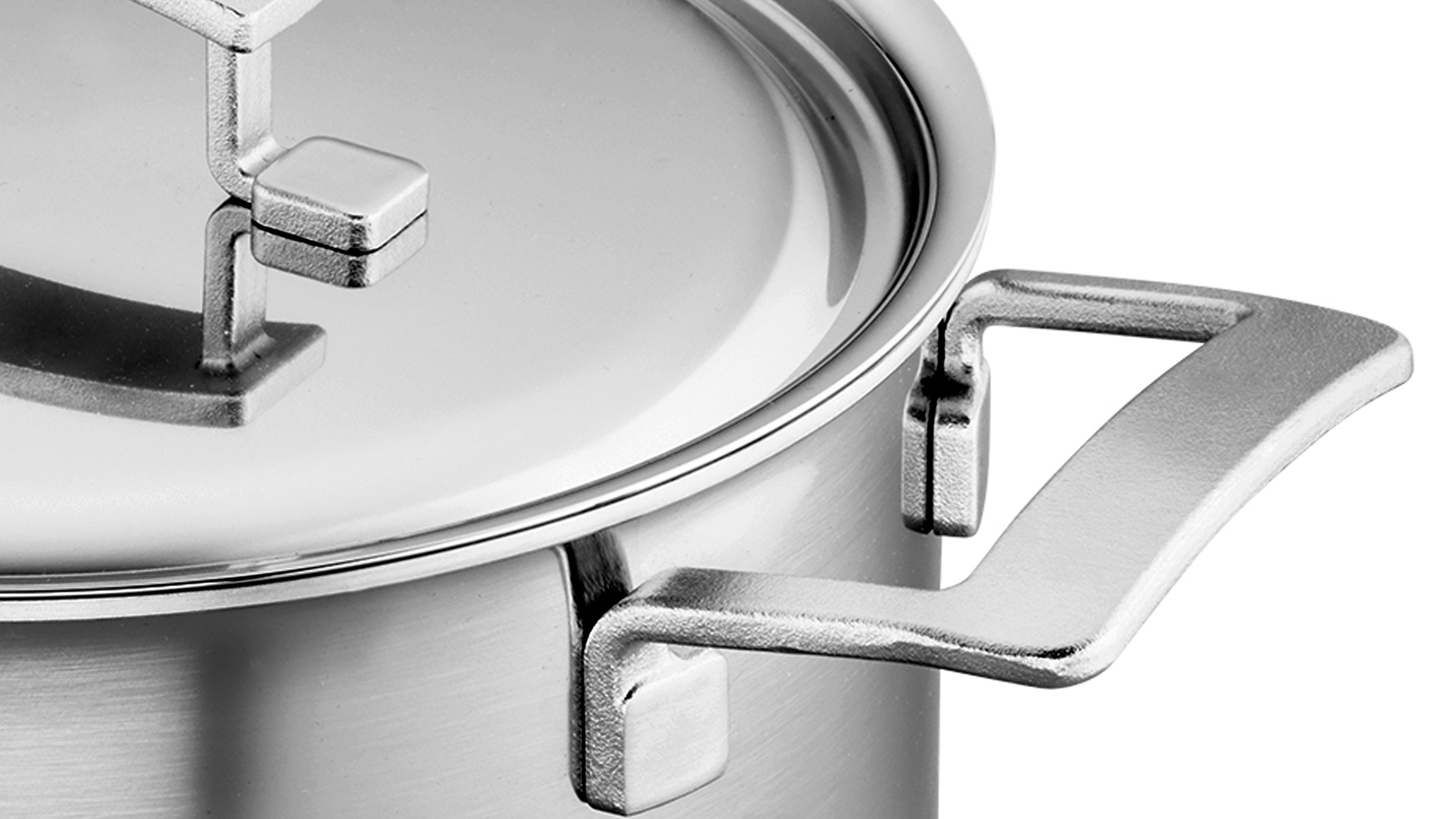 Demeyere Industry5 Stainless Steel Stock Pot 8 Quart