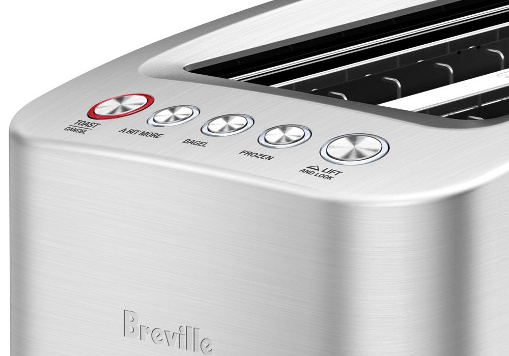 Breville Die Cast Long Slot Smart Toaster 4 Slice