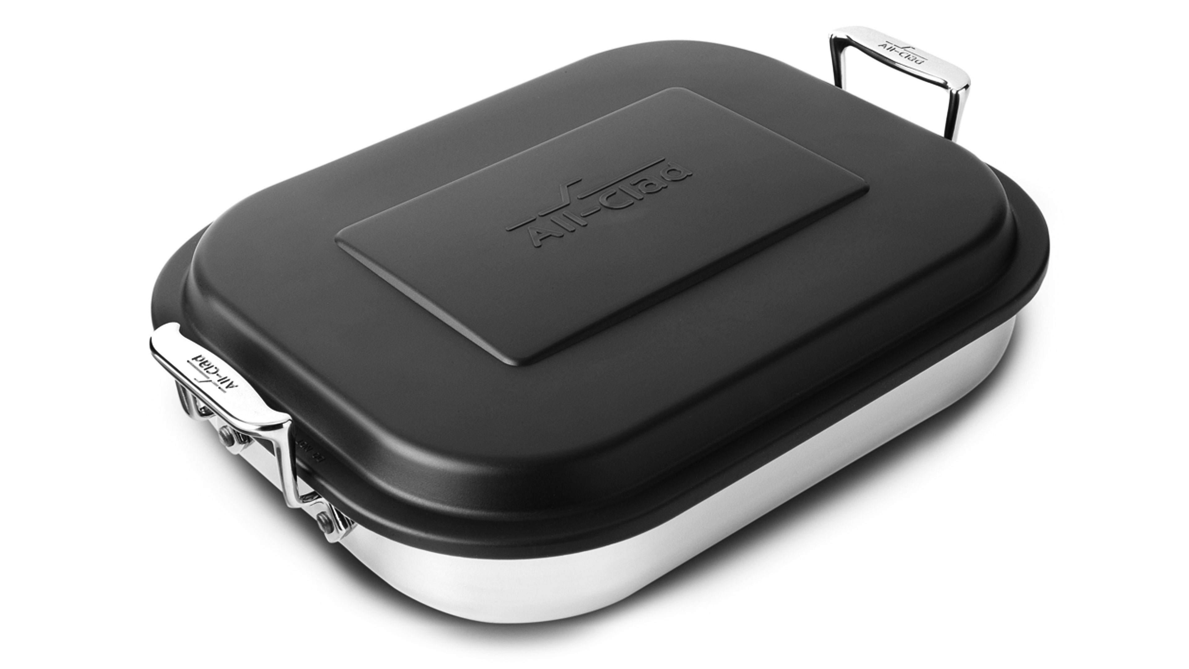 All Clad Lasagna Pan With Lid Stainless Steel Cutlery