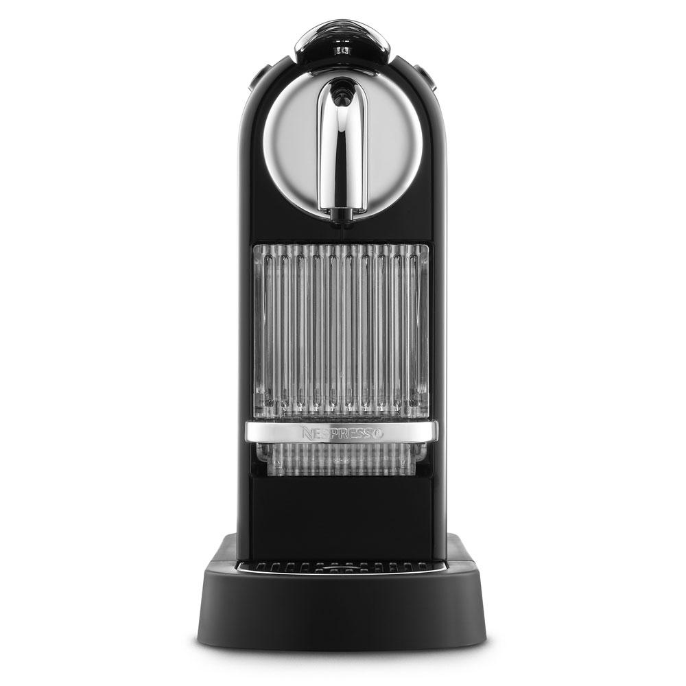 Nespresso Citiz Espresso Maker with Aeroccino Plus Milk Frother, Black Cutlery and More