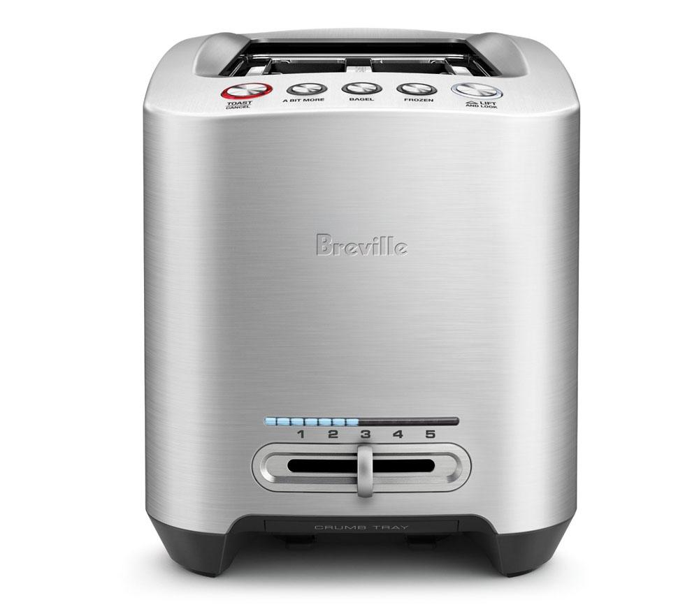 Breville Die Cast Long Slot Smart Toaster 4 Slice