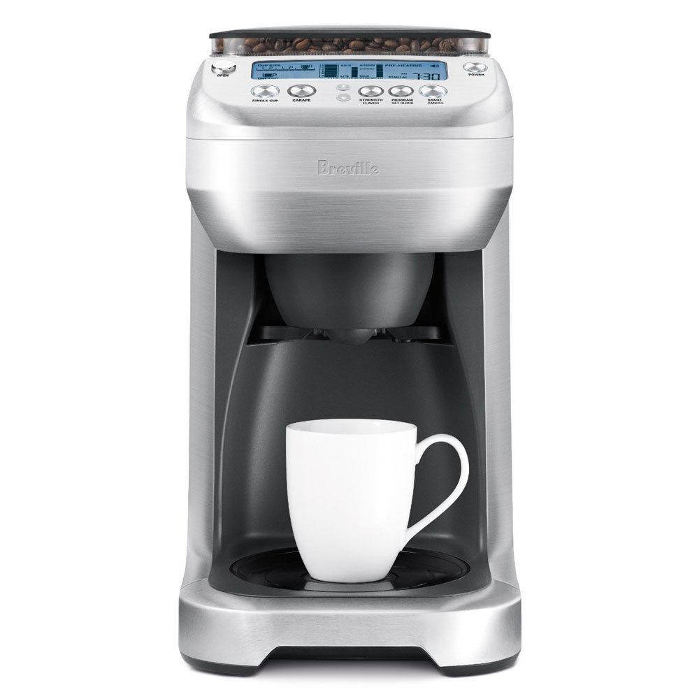Thermal Coffee Maker Red : Breville YouBrew Thermal Carafe Coffee Maker with Conical Burr Grinder Cutlery and More