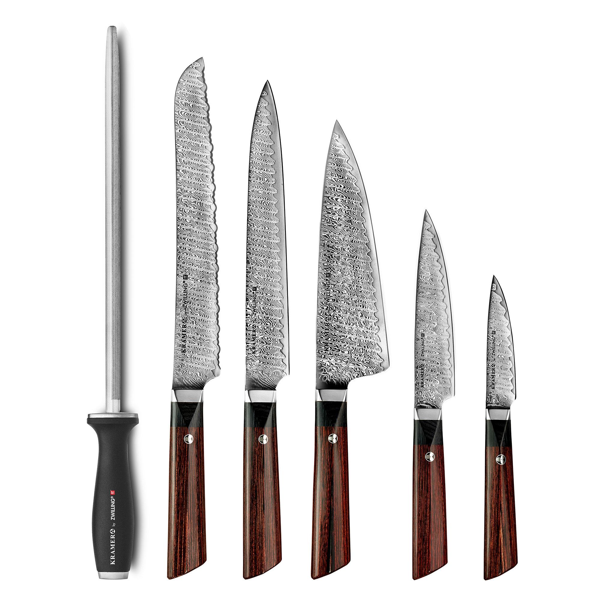 Kramer By Zwilling Meiji Knife Block Set 7 Piece