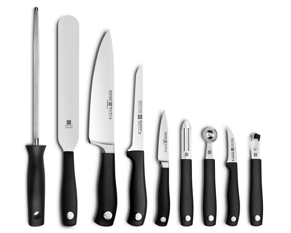 Wusthof Culinary School Knife Set 10 Piece Cutlery And More