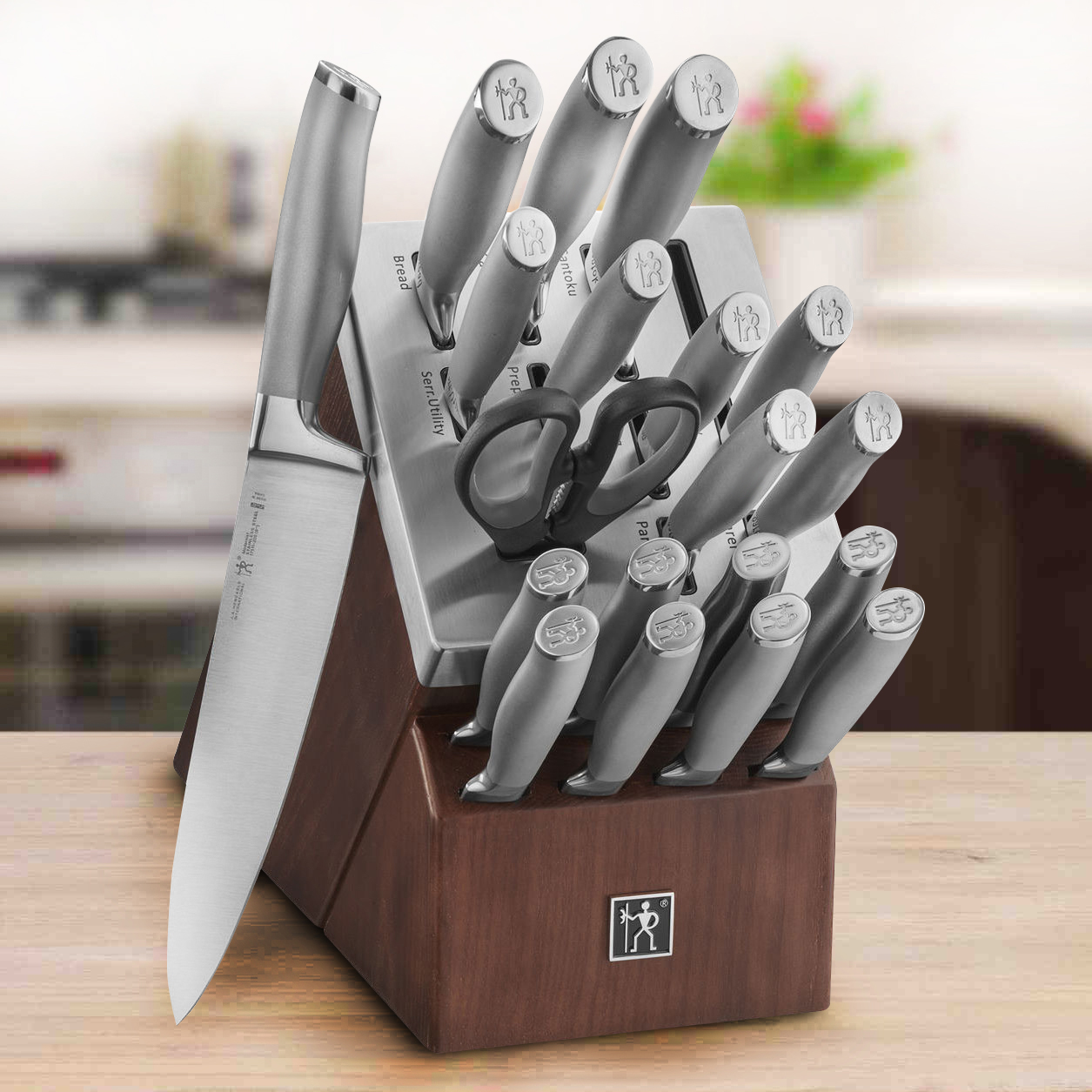 Henckels International Modernist Self Sharpening Knife Set