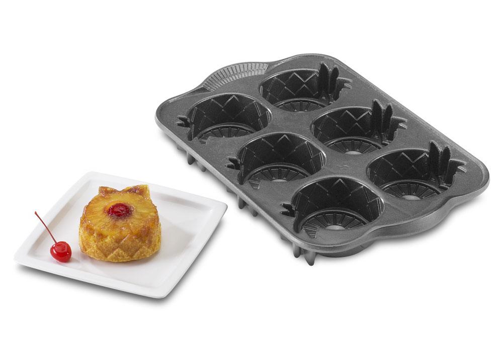 Nordicware Platinum Series Mini Pineapple Upside Down Cake
