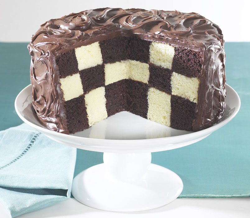 Nordicware Checkerboard Cake Pan Set Cutlery And More