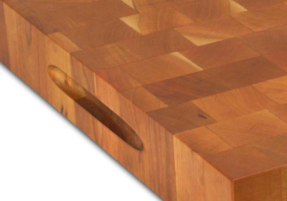 John Boos Cherry End Grain Cutting Board 18 X 12 X 1 75