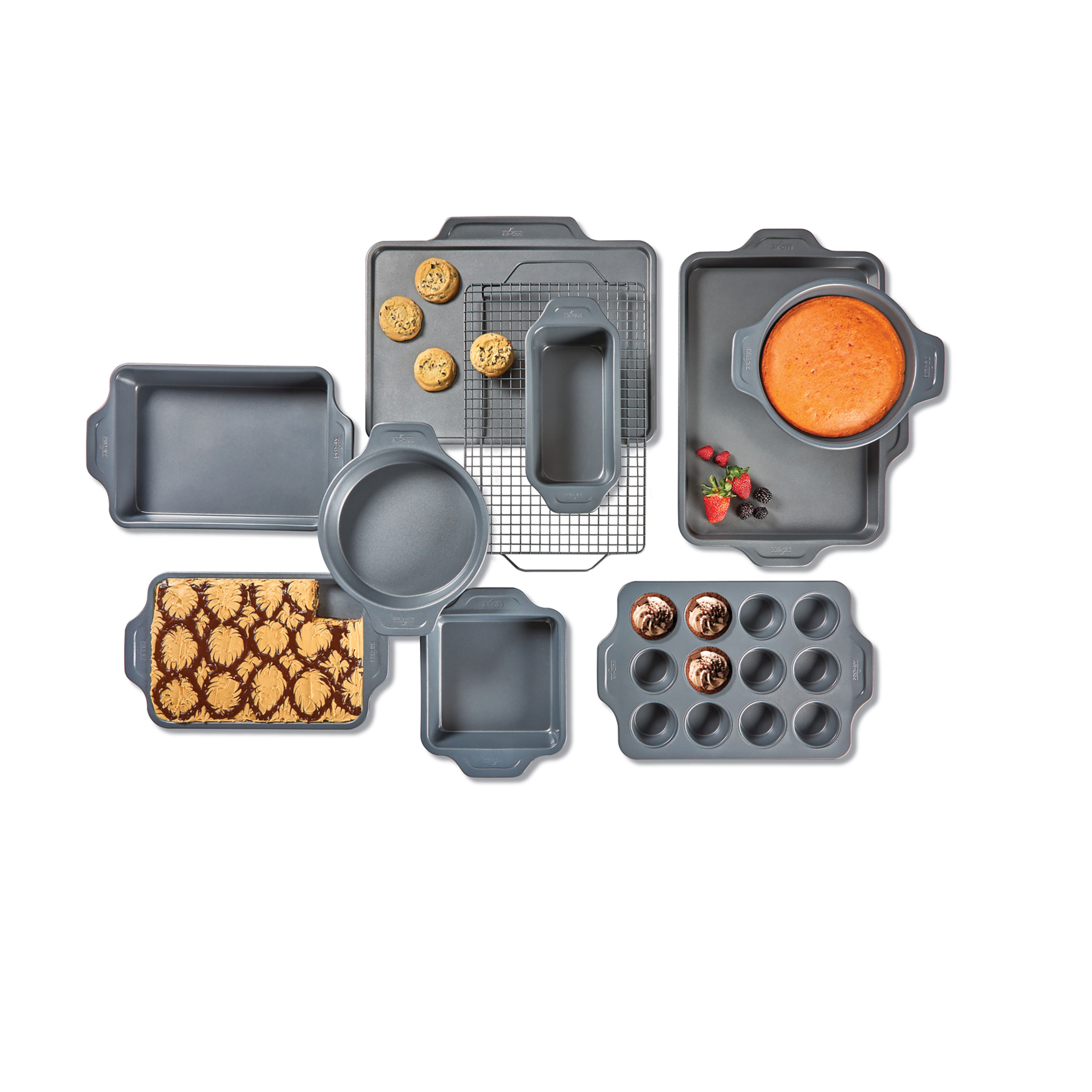 All Clad Pro Release Nonstick Bakeware Set 10 Piece