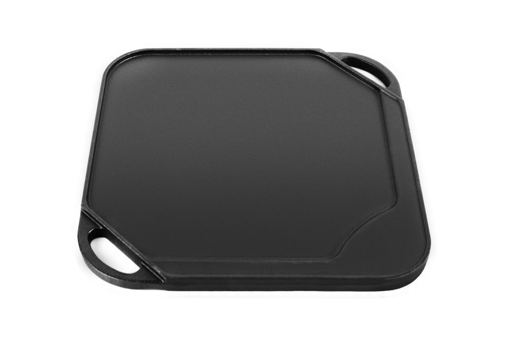 Le Creuset Cast Iron Square Reversible Grill Amp Griddle 10