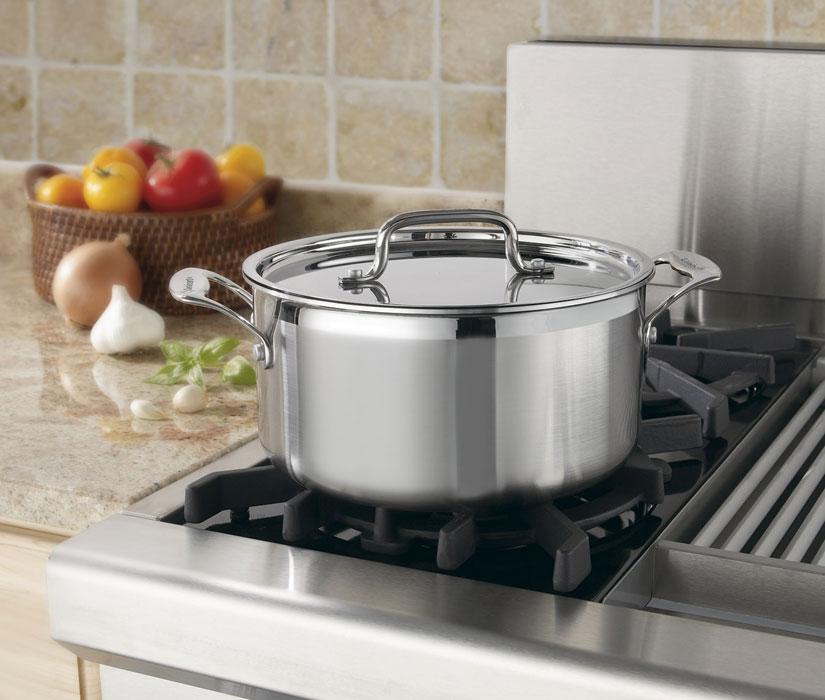 Cuisinart Multiclad Pro Stainless Steel Stock Pot 6 Quart