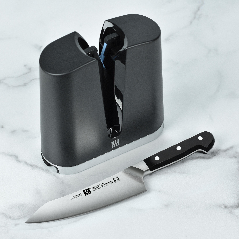 Zwilling J A Henckels Pro Rocking Santoku Knife With V