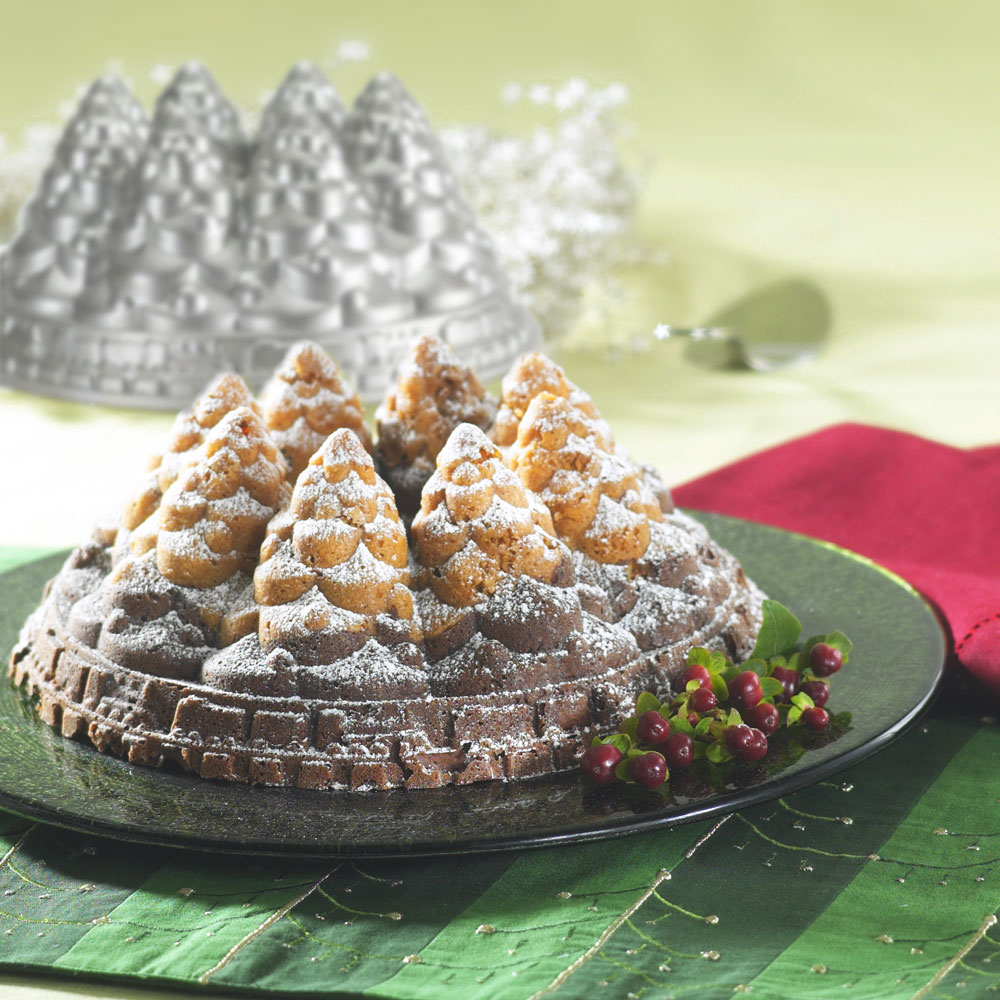 NordicWare Holiday Tree Bundt Pan, 10-cup | Cutlery and More