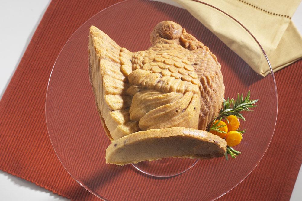 Nordicware Platinum Series Turkey Cake Mold 5 Cup
