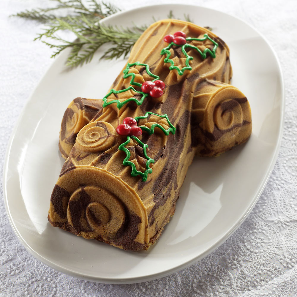 Nordicware Pro Form Bakeware Yule Log Pan Cutlery And More