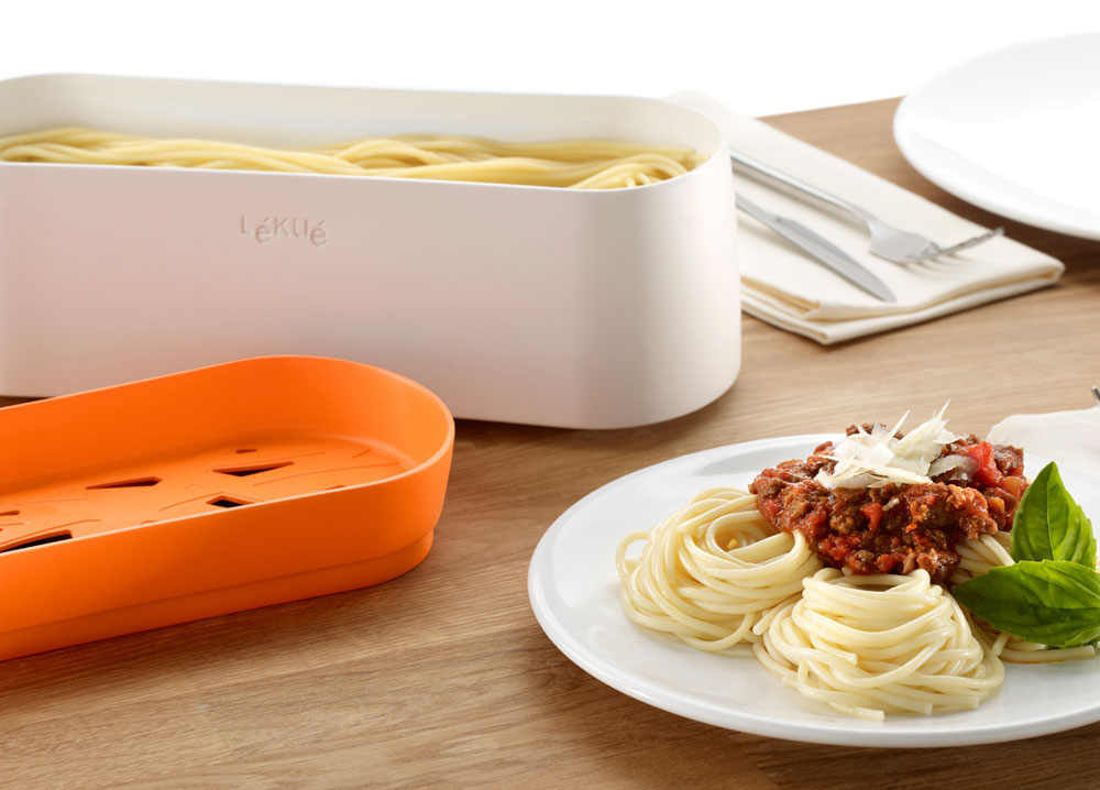 Lekue Microwave Pasta Cooker Cutlery And More