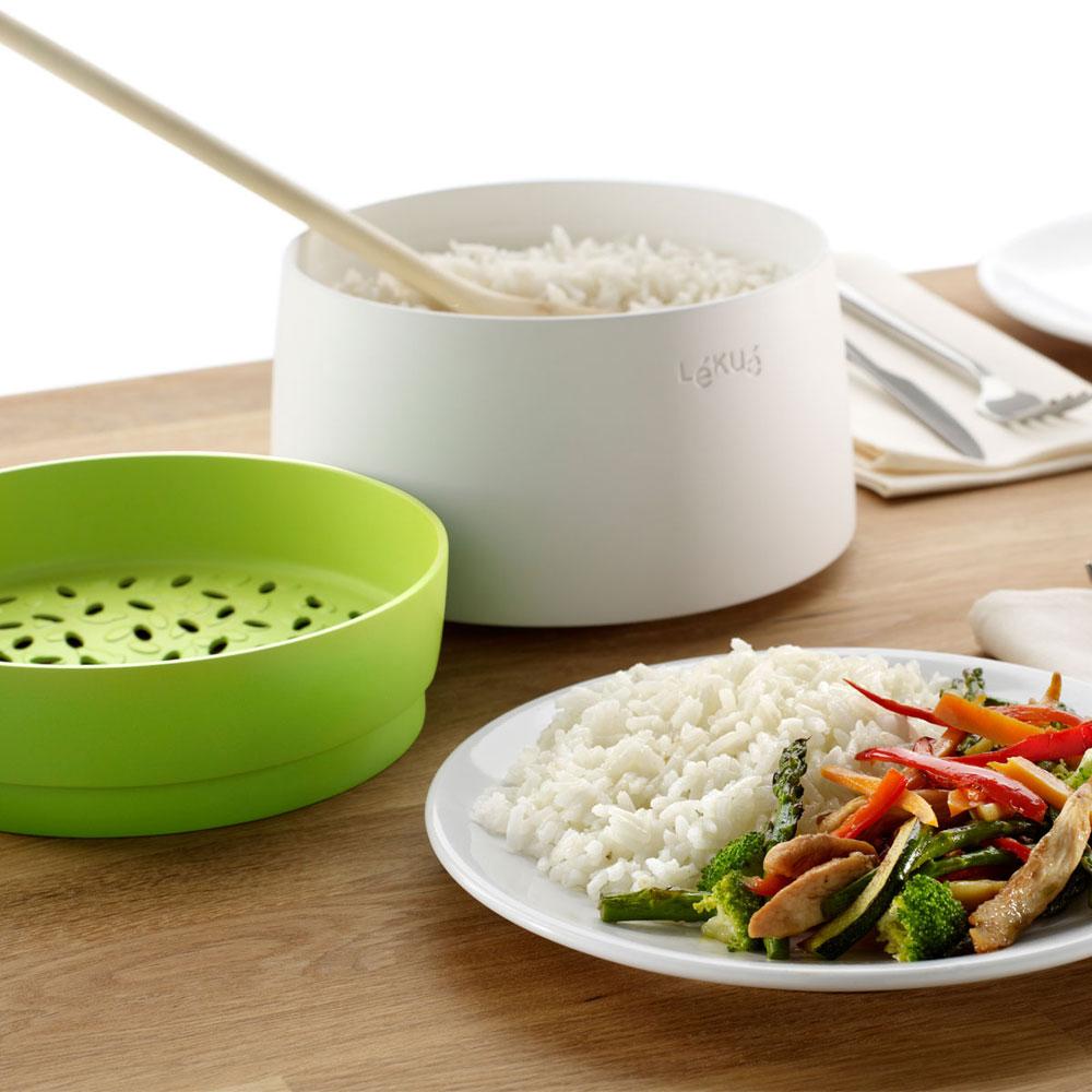 Lekue Silicone Microwave Rice Amp Grain Cooker 1 Quart