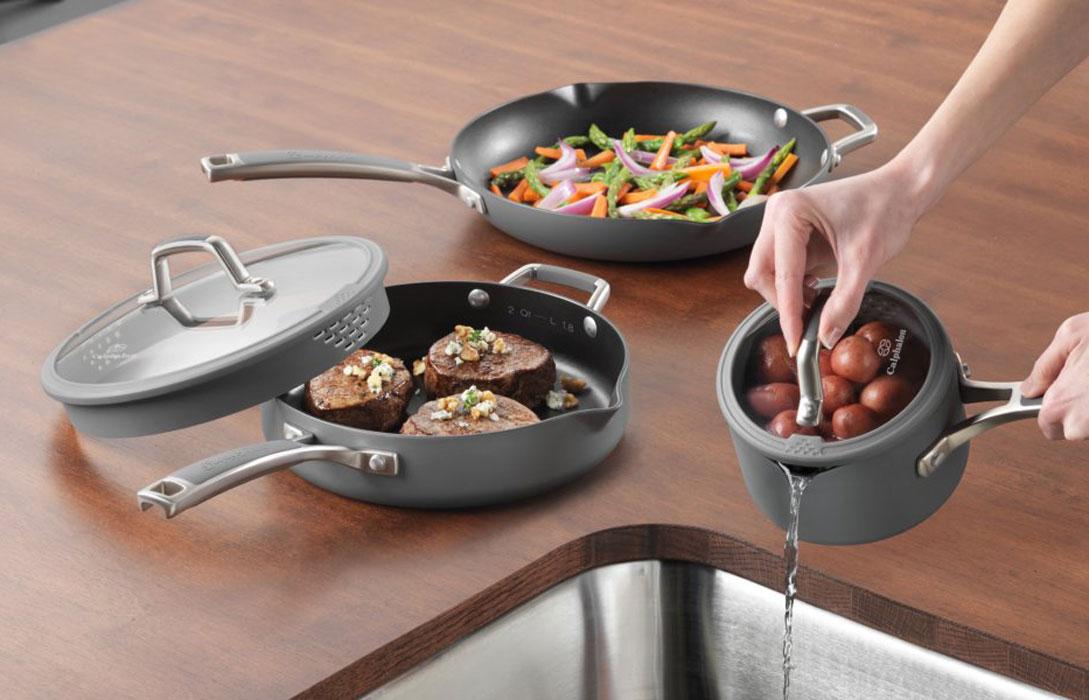 Calphalon Easy System Nonstick Cookware Set 12 Piece