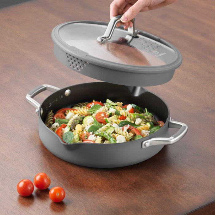 Calphalon Easy System Nonstick Sauteuse 3 Quart Cutlery