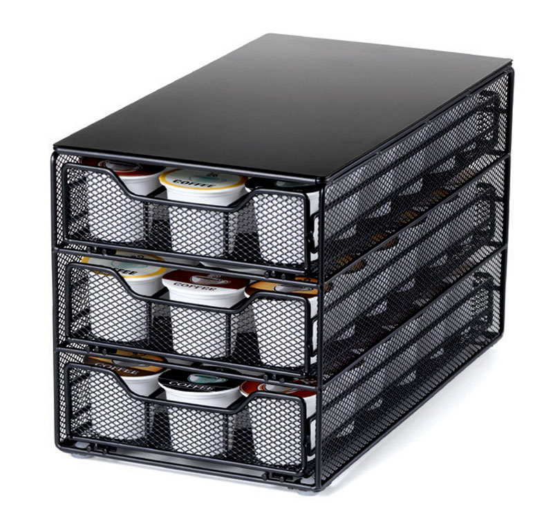 Nifty K Cup Coffee Pod Three Tiered Drawer 54 Slot