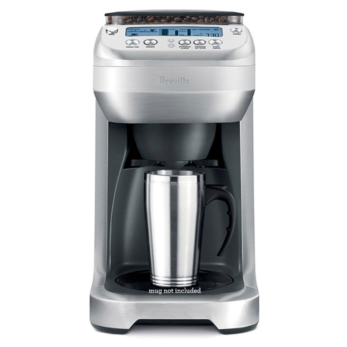 Breville Youbrew Glass Carafe Coffee Maker With Conical