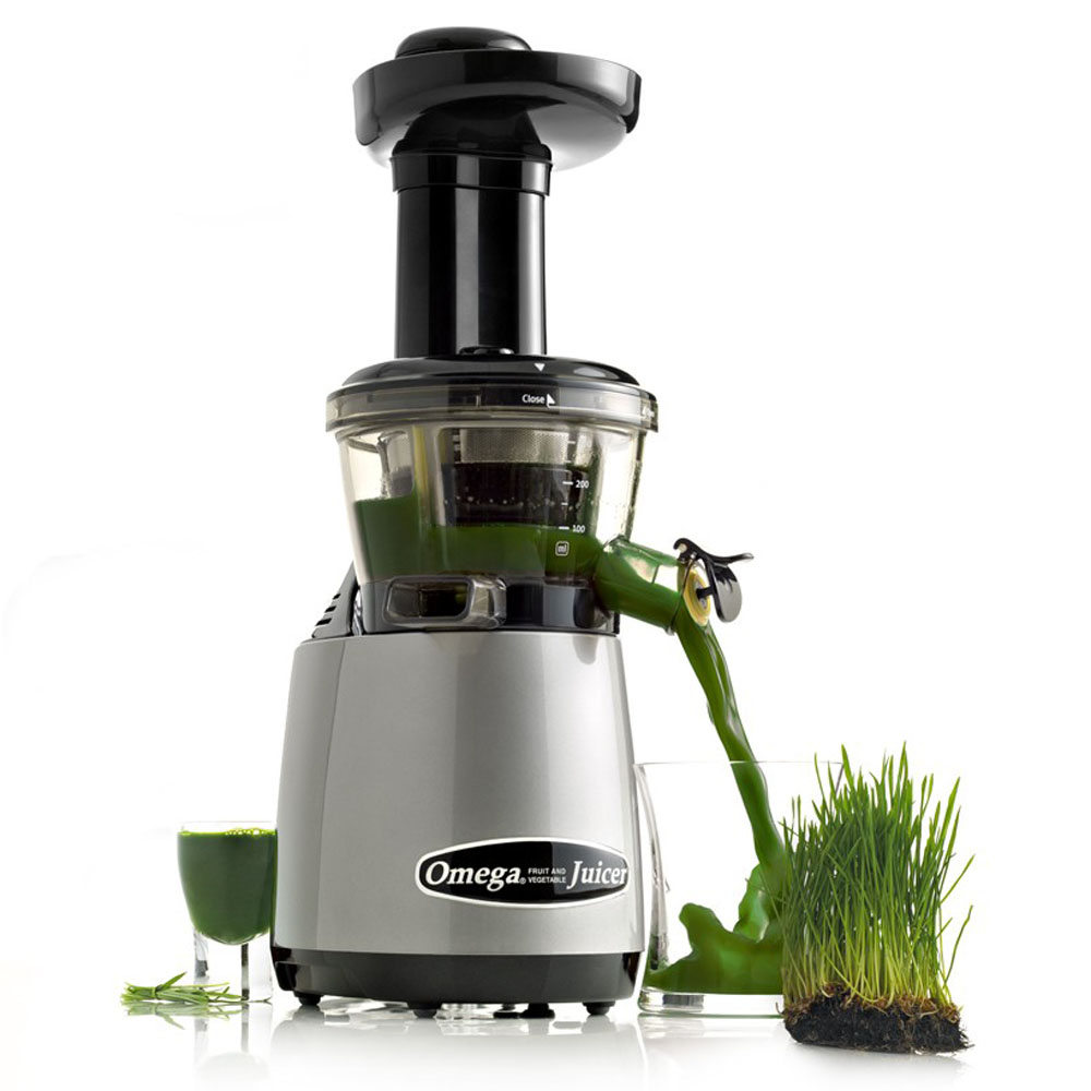 Omega Vrt400 Hd Vertical Low Speed Juicer With Flap