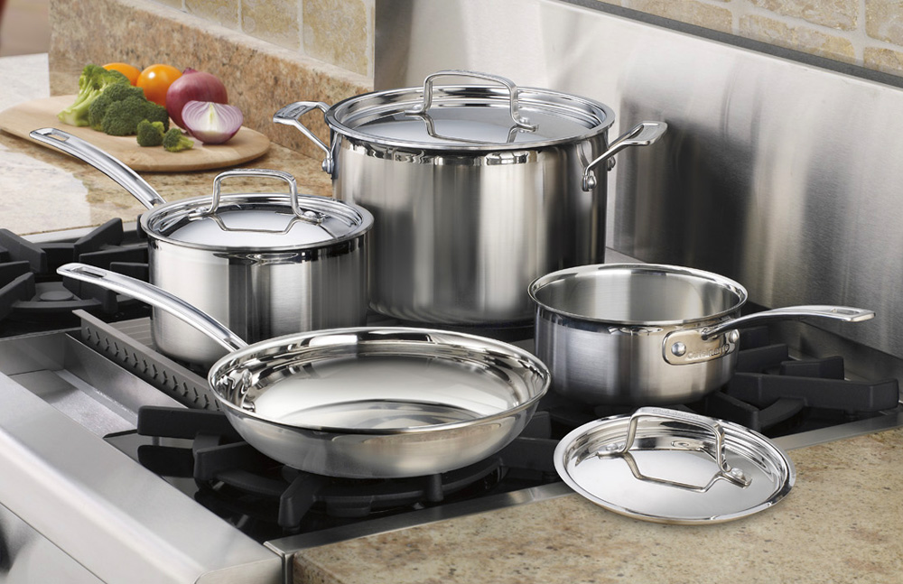 Cuisinart Multiclad Pro Stainless Steel Cookware Set 7