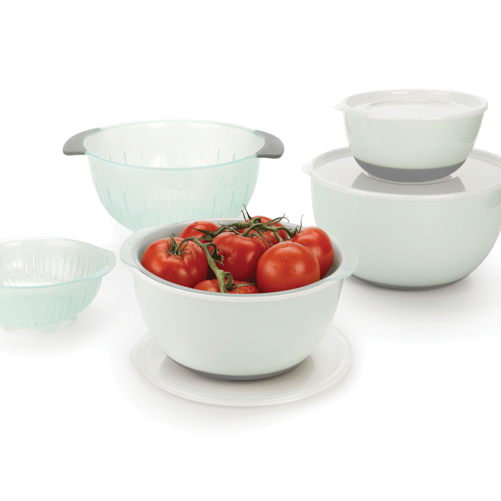 Oxo Good Grips Nesting Bowls Amp Colanders Set 9 Piece Sea