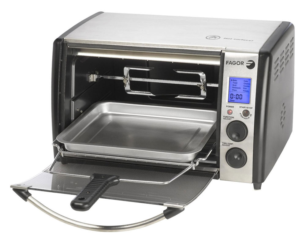 Countertop Oven Sale : Fagor Toaster Oven on Sale with Free Shipping Cutlery and More