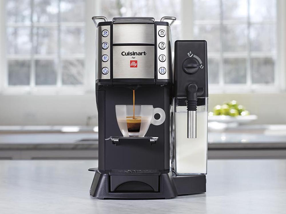 Cuisinart Coffee Maker Illy : Cuisinart for illy Buona Tazza iperEspresso Machine on Sale Cutlery and More