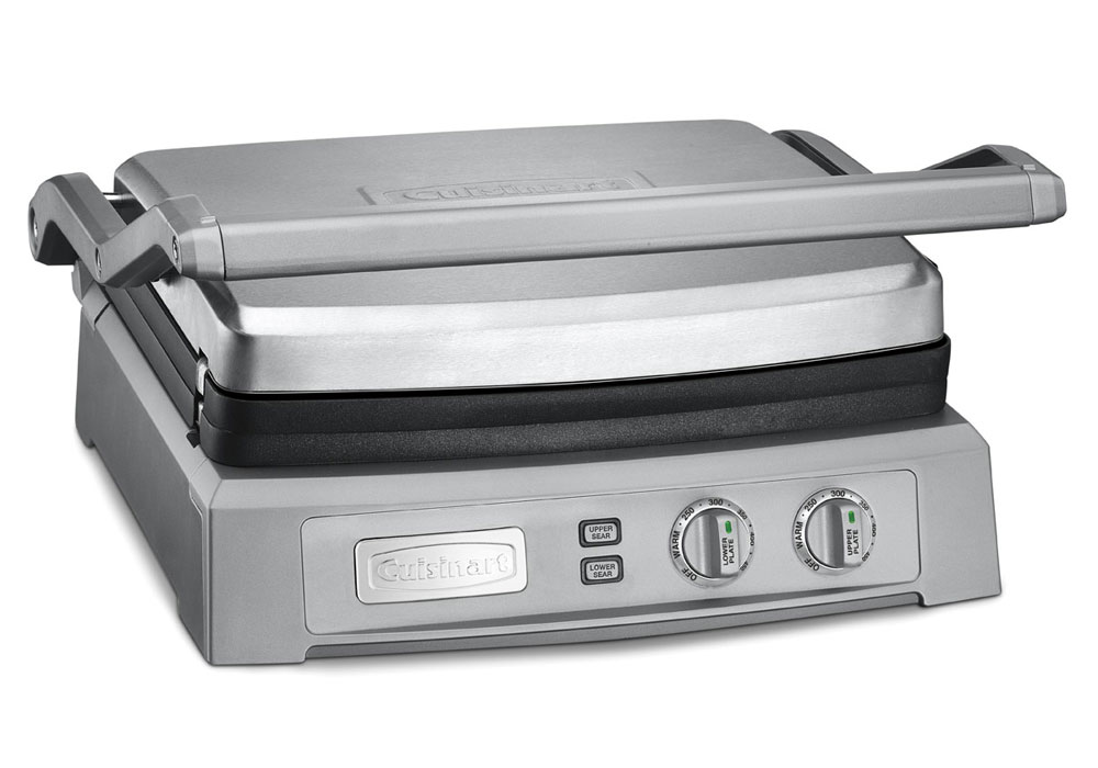 Cuisinart Deluxe Griddler Panini Press Amp Griddle Cutlery