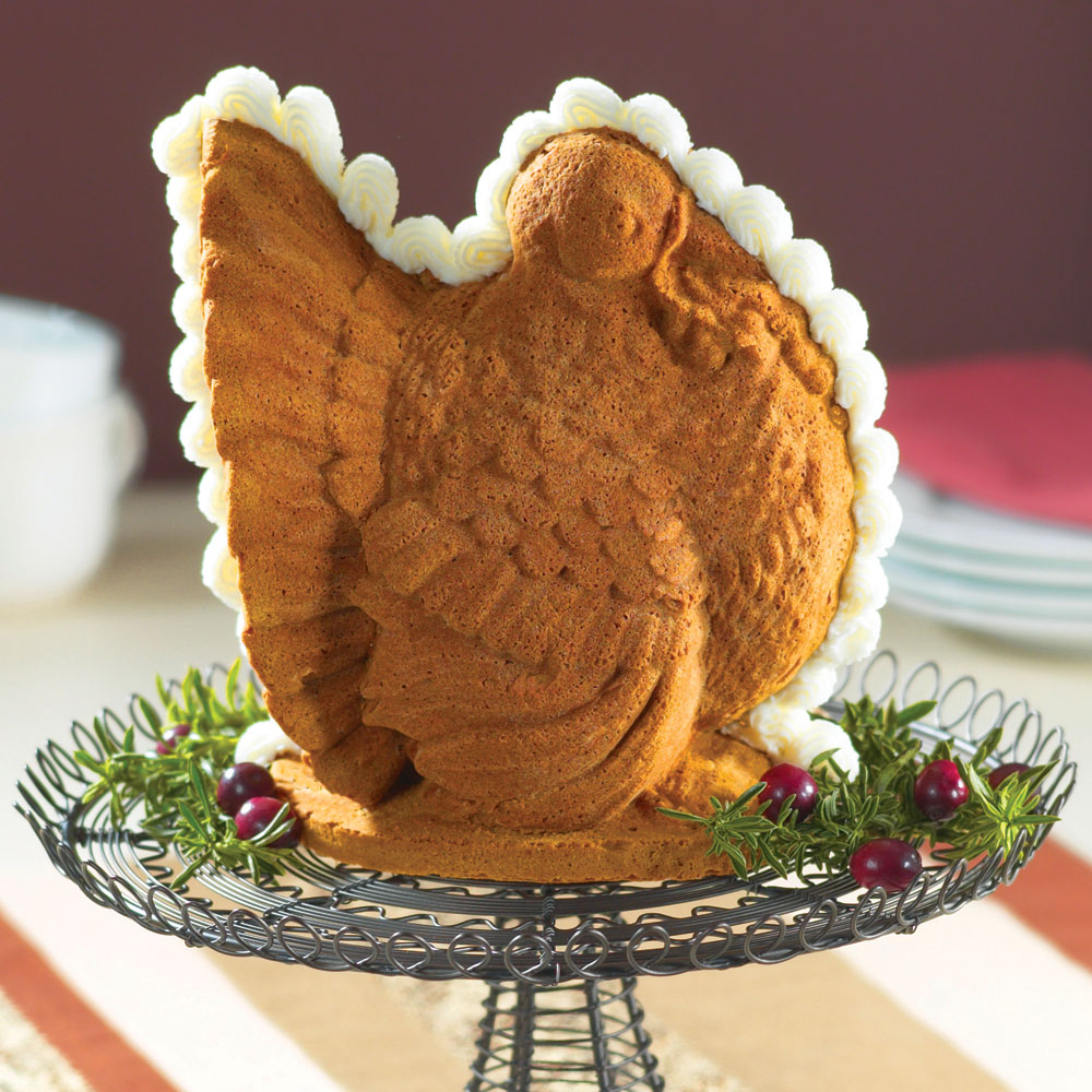 Nordicware Turkey 3 D Cake Pan 9 Cup Cutlery And More