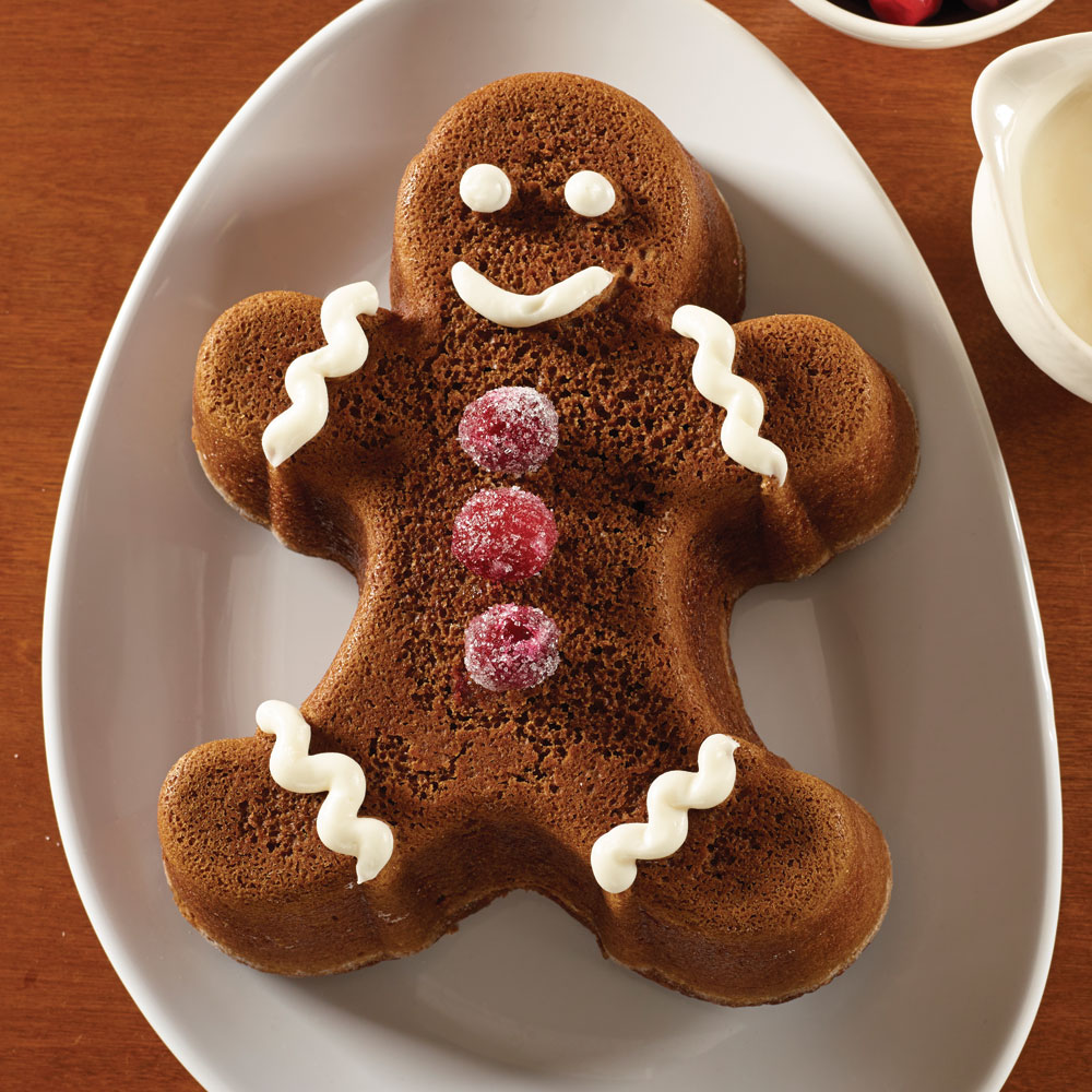 Nordicware Gingerbread Man Cake Pan Cutlery And More
