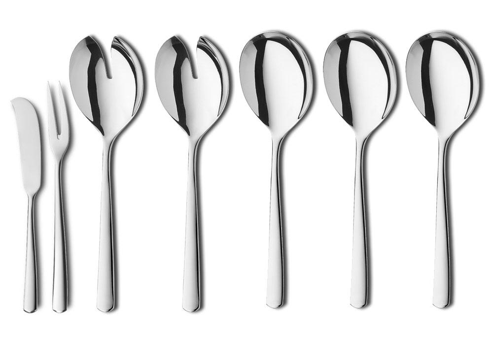 Wmf 63 Piece Manaos Stainless Steel Flatware Set Cutlery
