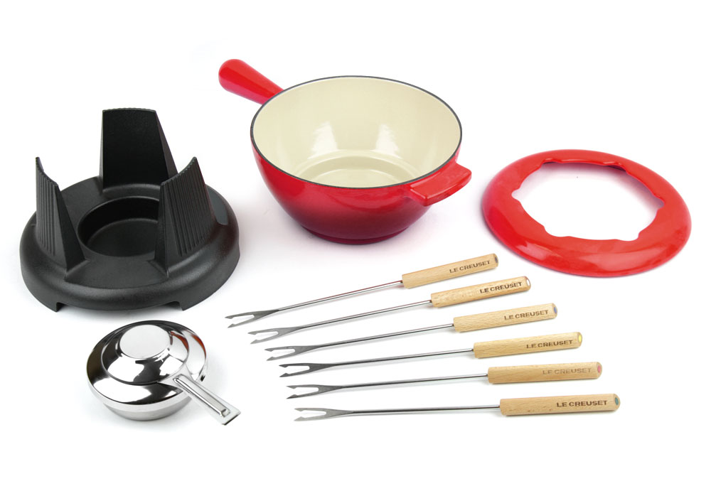 le creuset fondue set instructions