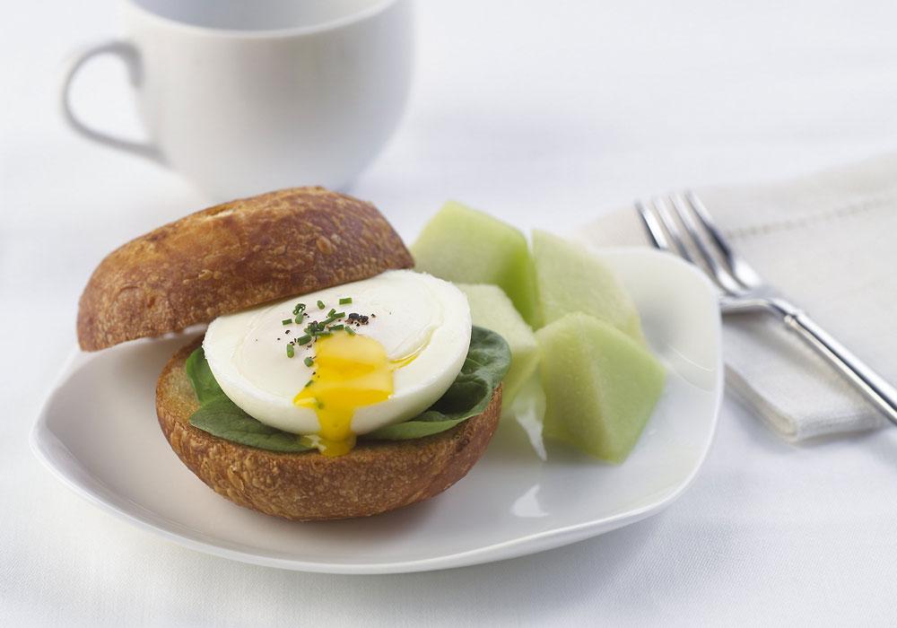 Calphalon Unison Slide Nonstick Egg Poacher 6 Cup