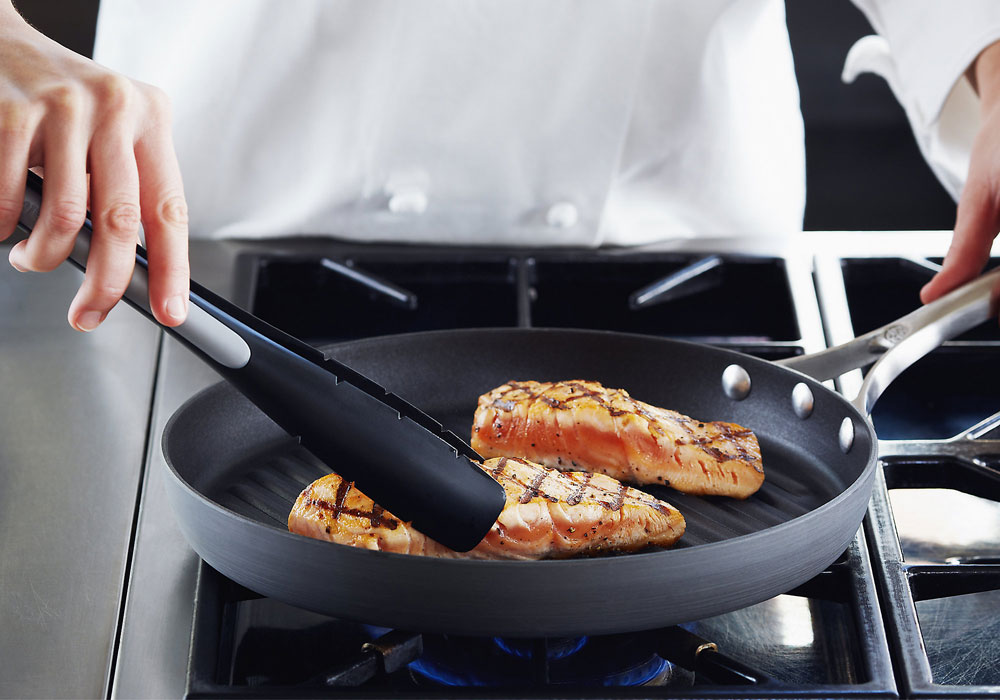 Calphalon Unison Round Sear Nonstick Grill Pan 12