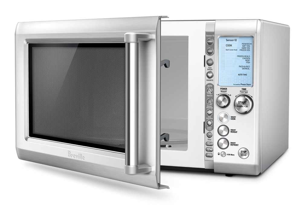 Breville Quick Touch Microwave Oven Cutlery And More