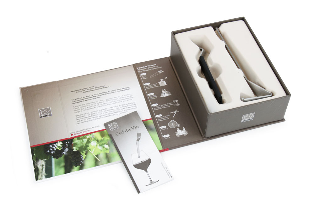 Peugeot La Clef du Vin Gift Set, 2-piece | Cutlery and More