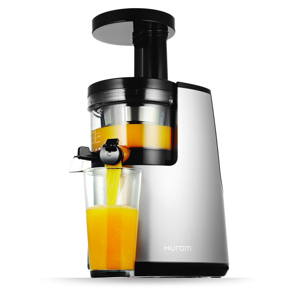 Hurom Slow Juicer Bahrain : Hurom HH Elite Slow Juicer, Silver Cutlery and More