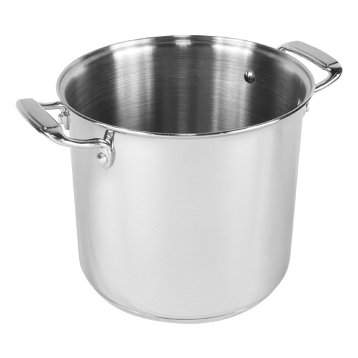 Stainless steel pot all clad pasta pot spectacular on home for Alpine cuisine silverware
