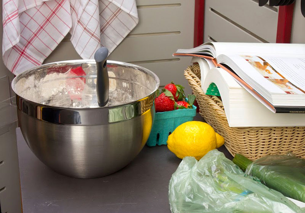 Rosle Deep Stainless Steel Bowl 5 7 Quart Cutlery And More