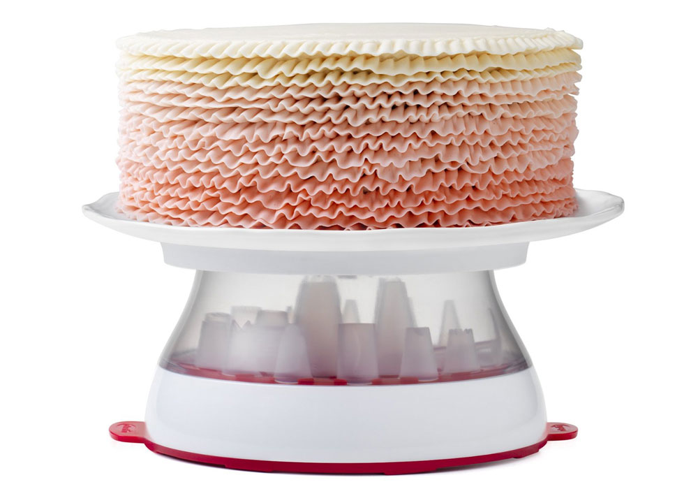 Chef N Cakewalk Cake Stand Amp Turntable Decorating Kit