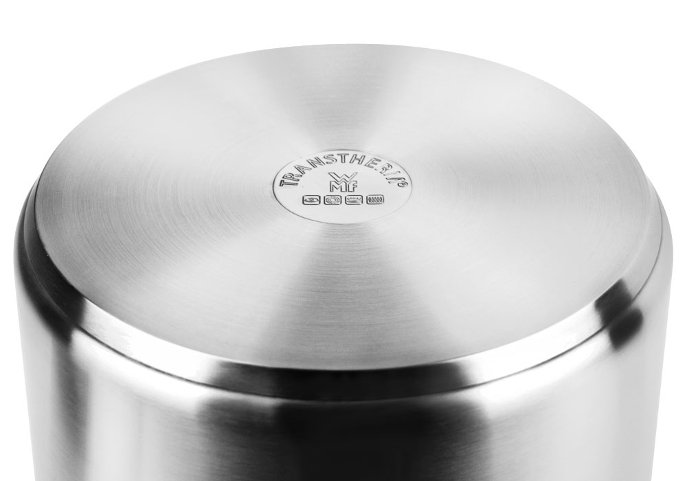 Wmf Large Stainless Steel Stock Pot With Transtherm Base