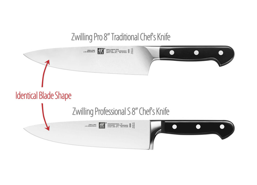 Zwilling J A Henckels Pro Traditional Chef S Knife 8