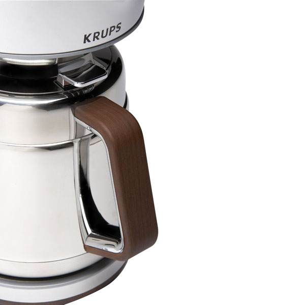 Krups 10 European Cup Silver Art Collection Thermal Carafe Coffee Maker Cutlery and More