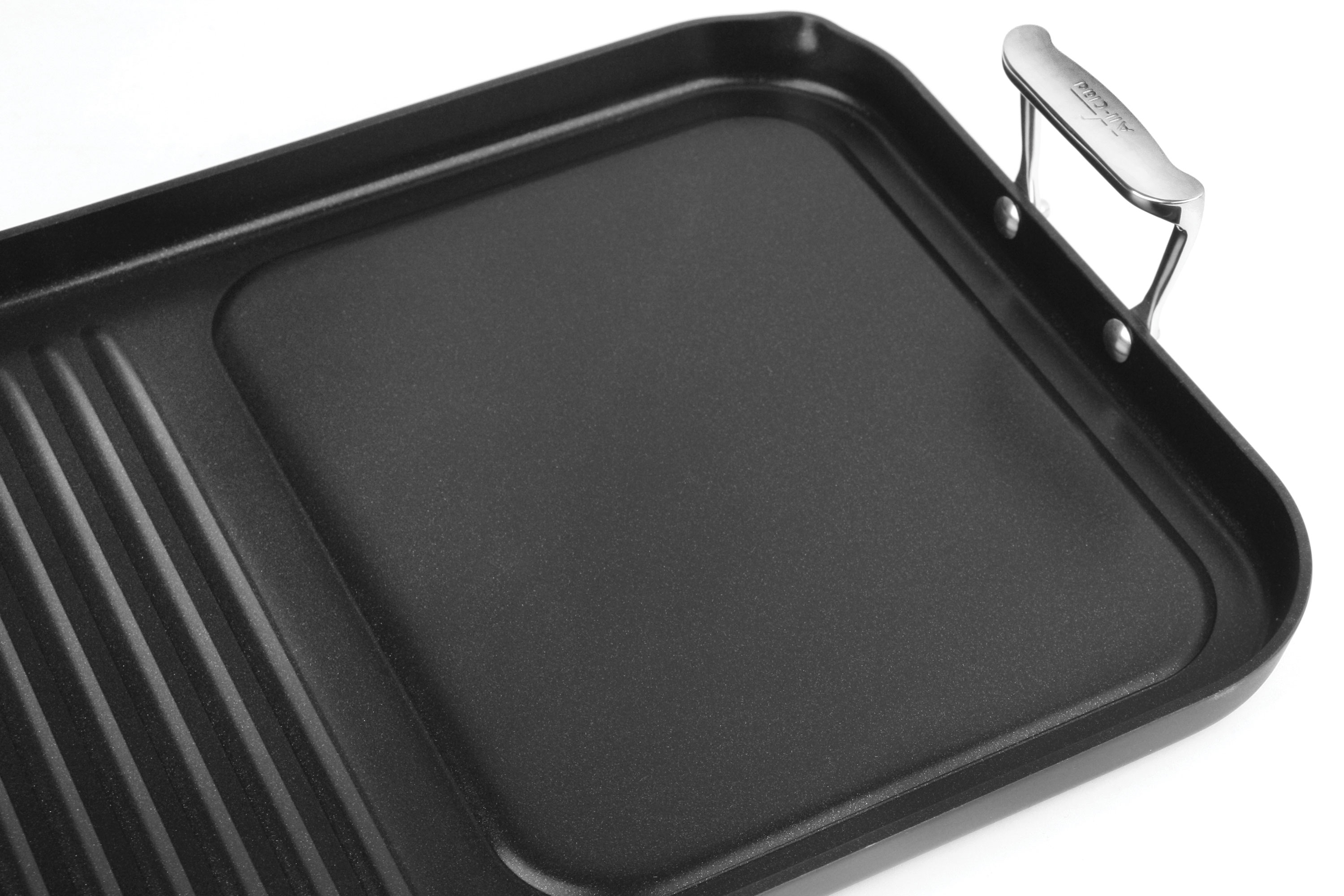 All Clad Nonstick Combo Grill Pan Amp Griddle 20 X 13 Inch